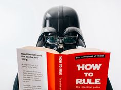 Sometimes even Darth Vader needs a day off!