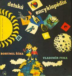 Detská encyklopédia, Bohumil Říha, ilustrácie Vladimír Fuka,Czechoslovakian children's book illustrations
