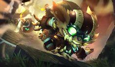 Poster 42x25 cm League Of Legends Swain Maestro De Dragones// Dragon Master LOL