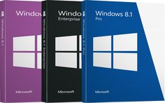 Windows 8.1: Pro, Enterprise & Core/Basic - Retail License with Software Download with 65% Off on sale