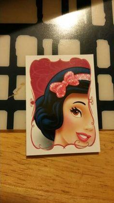 Disney Glamour Princess Panini Sticker # 9