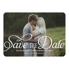 Elegant Save the Date | Photo Card