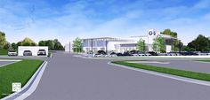 BMW Dealership Study by Charles Vincent George Architects