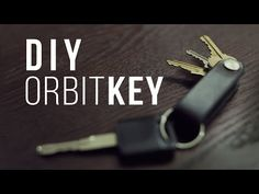 ▶ DIY OrbitKey - How to Make a Leather Keyholder - YouTube
