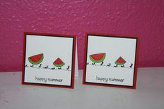 Sommer kort med myrer