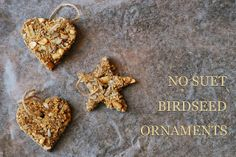 SAS-does: NO SUET BIRDSEED ORNAMENTS  via http://sas-does.blogspot.com