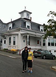 Hocus Pocus locations | Max Denison's house | 4 Ocean Ave. Salem, MA