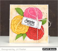 Introducing Penny Black's newest collection of stamps, stencils, dies, and designer paper--available January 30, 2015 *Don't miss the giveaway on our blog*