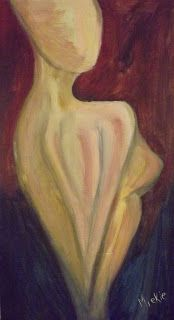 Painting An Abstract Nude in Acrylics Acrylics, Arts And Crafts, Nude, Abstract, Pretty, Artist, Blog, Painting, Inspiration