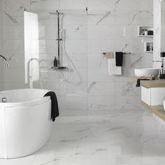 Sol salle de bains : carrelage, carreaux de ciment, parquet... - Côté Maison