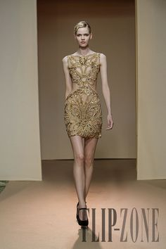 "Dany Atrache ""Golden Age"", F/W 2011-2012 - Couture - http://www.flip-zone.com/fashion/couture-1/independant-designers/dany-atrache-2326"