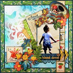 Island Jewel *Graphic 45* - Scrapbook.com