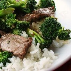 """Restaurant Style Beef and Broccoli 