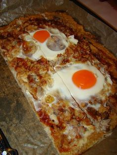 Cristina's world: Pizza - dukan style Pizza, Food And Drink, Cooking Recipes, Eggs, Breakfast, Style, Decor, Diet Recipes, Dukan Diet