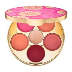 Shop tarte's Kiss & Blush Cream Cheek & Lip Palette at Sephora. It has five lip and cheek shades and one highlighter shade for a natural-looking flush.