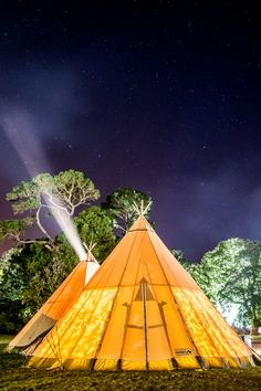 Tipis lit up - Magnakata Paul Canning Photograhy Wedding Venue Inspiration, Irish Wedding, Festival Lights, Alternative Wedding, Light Up, Outdoor Gear, Tenten, Wedding Venues, Wedding Planning