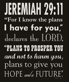 God has plans for yOu.