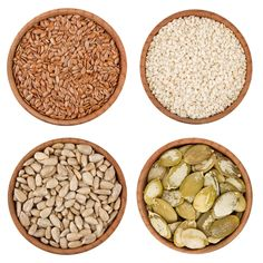Seed Cycling    When I came off birth control pills a few years ago, my cycle was a mess.  I felt terrible and had this stubborn layer of fat that I couldn't get rid of no matter what I tried.  One thing that helped me was seed cycling.