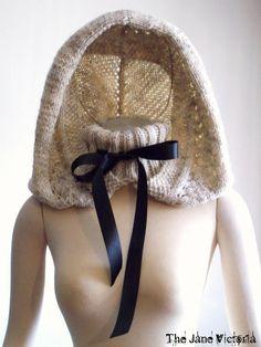 Hooded Cowl Knitting Pattern, Alasse Miriel, PDF. $5.00, via Etsy.