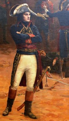 Snarky Bishonen Napoleon A section of a painting also known as Revolt at Pavia by Paul-Emile Boutigny, 1796 Click for Source