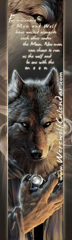 2017/08/21 Wolf Bookmark