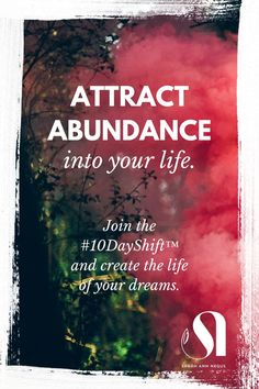 Attract abundance, get clarity & start living your dream life. Join the #10DayShift™️ now. Love yourself, love myself, energy healer, shaman healing, money mindset, Law of Attraction, Abraham Hicks, growth mindset, abundance images, abundance affirmations, manifesting abundance, money abundance, self care routine, self care quotes, self care ideas, self care mental health, self discovery, meditation for beginners, mindfulness routine, raise your vibration, guided meditation for letting go.