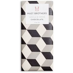 Mast Brothers Chocolate Organic Vanilla & Smoke Bar (29 PEN) ❤ liked on Polyvore featuring home, kitchen & dining, food and filler