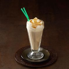 "Caramel Macchiato Floats Recipe -""I made these creamy, caramel-flavored floats for a party, and everyone loved them!"" —Melissa Heller, Santa Maria, California"