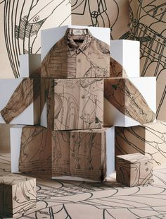 Hermes: the shirt, pinned by Ton van der Veer