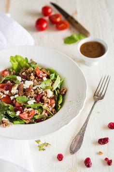 Farro salade met vijgen dadel dressing   simoneskitchen.nl