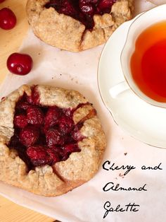 Cherry and Almond Galette Recipe - JoyOfKosher.com
