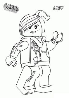 Lego dc universe super heroes coloring pages free for Wyldstyle coloring pages