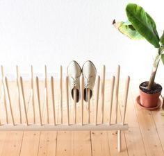 Zapateros caseros de tela, madera y cartón | Ideas y diseños originales para hacer - Son Recomendados