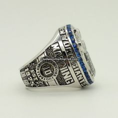 2011 New York Giants Super Bowl XLVI Championship Ring.Best gift from www.championshipringclub.com for  Giants fans. Custom your  personalized championship ring now!