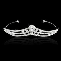 Χαριτωμένη Τιάρες Κράμα με στρας για το γάμο / Headpieces Ειδικές περιστάσεις - EUR € 13.63