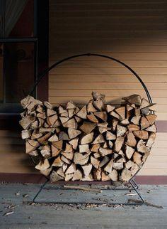 Wood storage ideas firewood rack products 37 Ideas for 2019 Firewood Stand, Firewood Holder, Wood Storage Rack, Firewood Storage, Smart Storage, Storage Ideas, Decoration Inspiration, Autumn Inspiration, A Well Traveled Woman