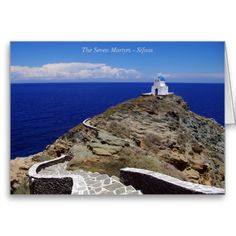 The Seven Martyrs – Sifnos Greeting Card