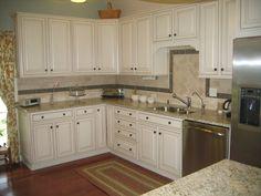 Kitchen Cabinet Design L Shape painted white kitchen cabinets   dream home   pinterest   kitchens