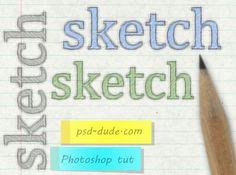instantShift - Fresh efeito de texto Tutoriais Photoshop