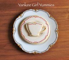 China cookies by Yankee Girl Yummies
