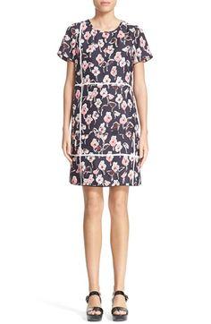 MARC JACOBS Floral Print Silk Dress. #marcjacobs #cloth #