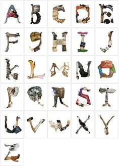 Fashion Alphabet by Yvette Yang
