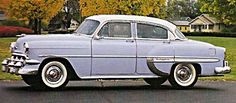 """1954 Chevy Bel Air - """"love the lavender"""""""