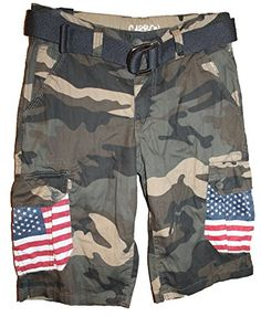 Rue21 Mens Classic Length Cargo Shorts Green Camouflage American Flag (26) Rue21 http://www.amazon.com/dp/B00U2P0GCU/ref=cm_sw_r_pi_dp_tlX9ub09311WK