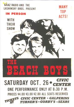 "The Beach Boys Concert Poster 1979  • 100% Mint unused condition • Well discounted price + we combine shipping • Click on image for awesome view • Poster is 12"" x 18"" • Semi-Gloss Finish • Great Music Collectible - superb copy of original • Usually ships within 72 hours or less with > tracking. • Satisfaction guaranteed or your money back. Sportsworldwest.com"