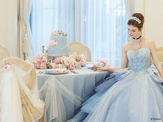 シンデレラ | プリンセスドレス | セカンドコレクション | ディズニー ウエディング ドレス コレクション Prom Dresses, Formal Dresses, Wedding Dresses, Debut Party, Princess Wedding, Photo Art, Fairy Tales, Ball Gowns, Cinderella