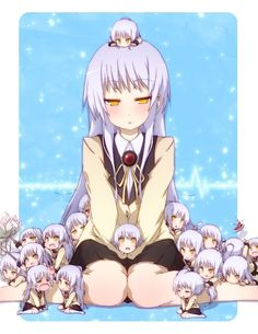 Tachibana Kanade, Angel Beats! I've been watching this, it's pretty good, and kinda sad. ;-;