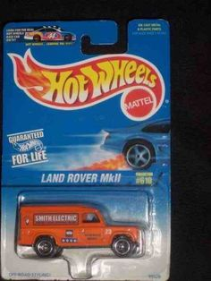 #610 Land Rover MKII Collectible Collector Car Mattel Hot Wheels by Hot Wheels. $4.95. A Perfect Addition To Any Hot Wheels Collection!. Diecast Metal Hot Wheels Car Perfect For That Hot Wheels Collector!. Great Investment For Any Hot Wheels Collector.. Fun For All Ages! Serious Collectors And Kids Alike!. Perfect Hot Wheels Diecast for every collector!. #610 Land Rover MKII Collectible Collector Car Mattel Hot Wheels