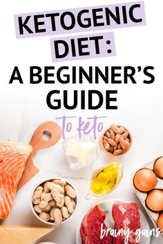 What is the Ketogenic Diet? A Comprehensive Beginner's Guide to Keto Wondering if the keto diet is right for you? This beginner's guide to the keto diet is full of information about keto and all its health benefits. Keto Diet Plan, Low Carb Diet, Keto Meal, Diet Plans, Egg And Grapefruit Diet, Desserts Keto, Keto Recipes, Healthy Recipes, Diet Aids