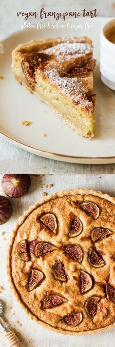 #frangipane #vegan #frangipanetart #glutenfree #easy #refinedsugarfree #sugarfree #almond #almonds